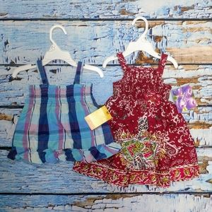 18 Months Baby Bundle! Sundress and Top!